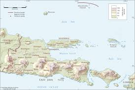 Map Java East Java Regencies Cartogis Services Maps Online Anu