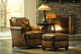 traditions furniture craftsman leather by stickley