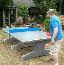 tennis table near me what are the dimensions of a ping pong table concrete table tennis