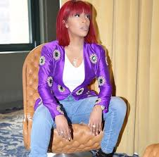 k michelle bob hairstyles hype or hmm k michelle s bangin red bob