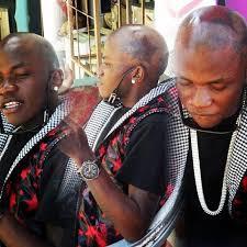 kenyan man gets matching tattoos to look like birdman
