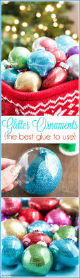 diy glitter ornaments best glue to use a pumpkin and a princess