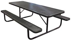 Poly Picnic Tables by Poly Coated Metal Picnic Tables Iowa Prison Industries