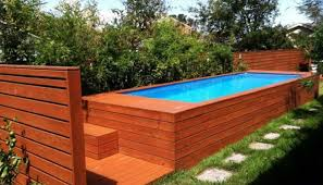 How To Build A Backyard Pool by How To Build A Shipping Container Swimming Pool