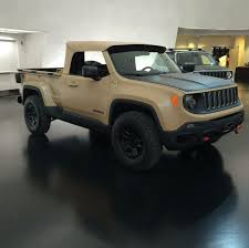 jeep concept truck renegade comanchee concept jeep patriot forums