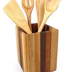 kitchen utensil canister size storage organization