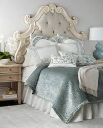 Headboard Made From A Door Bedroom Furniture In French Country Or Classic