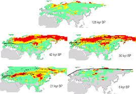 Mammoth Map Vanished Giants Nature U0027s Scythe Or Man U0027s Spear November 2012