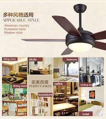 Remote Ceiling Fan With Light 48inch Modern Ceiling Fan With Led Light Kit And Remote Ceiling
