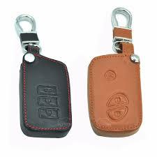 best lexus keychain leather car key case fold key cover for lexus gx460 es250 es350