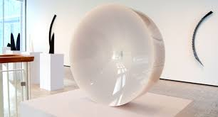 how fred eversley went from nasa engineer to cosmic artist in 60s fred eversley s untitled 1974 cast polyester resin lens center in the exhibit