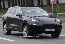 Porsche Cayenne Suv - 2010 porsche cayenne ii spy shots reveal suv u0027s interior