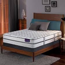 serta icomfort hybrid vantage ii firm california king mattress set