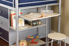 hillsdale universal junior loft bed w desk 1178jrlbds