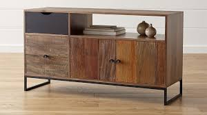 Credenza Tables Atwood Reclaimed Wood Credenza Crate And Barrel