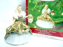 Christmas Ornament Storage Ebay by Hallmark Barbie Ornaments Ebay