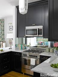 Remodel Small Kitchen Ideas Design Remodeling Small Kitchen Design Black Solid Cabinet Glasss