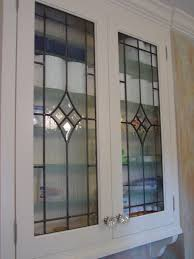 Glass Cabinet Door Cabinet Doors Inserts Beveled Stained Glass Etched Glass