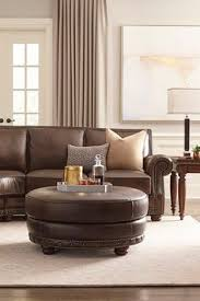 Havertys Leather Sofa by The Havertys Nevada Leather Sectional Transitional Style By