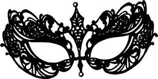 black and white mardi gras masks filigree mask png clipart image digi st clip
