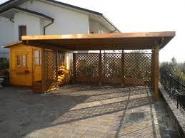 tettoia legno auto tettoia in legno a verona
