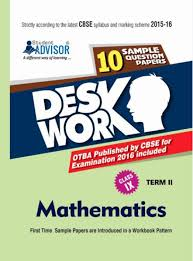 cbse desk work sample papers for class 9 term 2 mathematics