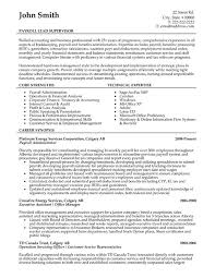 supervisor resume exles supervisor resume sle template