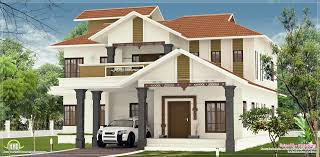 house design at kerala nice villa elevation design in 2600 sq feet kerala home design