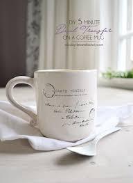 mug vs cup diy 5 minute decal transfer on a coffee mug