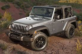 dark grey jeep jeep wrangler gets new packages refined looks for 2016