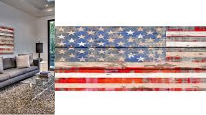 gorgeous wood american flag wall distressed rustic veteran