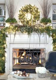 mantel decorations ideas year decoration picture chimney christmas