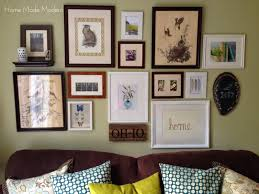 Gallery Art Wall An Eclectic Nature Themed Gallery Wall Home Made Modern