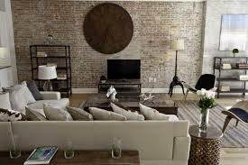 Traditional Tv Cabinet Designs For Living Room Furniture Traditional Living Room Design With Brick Wall And
