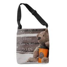 bag new year happy new year 2018 teddy crossbody bag teddy