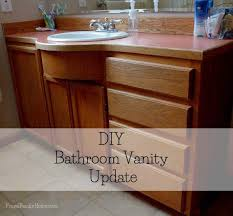 Update Bathroom Vanity Diy Bathroom Vanity Update Frugal Family Home
