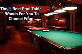 top pool table brands the 5 best pool table brands for you to choose from in 2018 cuesup