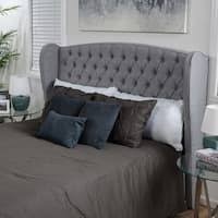 skyline furniture velvet king tufted wingback bed light gray skyline furniture tufted wingback headboard in velvet light grey