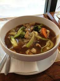 rat cuisine pork gravy teaw lard na ร ปถ ายของ wi rat บร สเบน