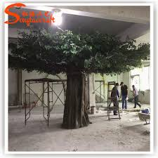 quality artificial tree factory of banyan tree home