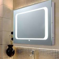 china led lighted bathroom mirror with motion sensor switch