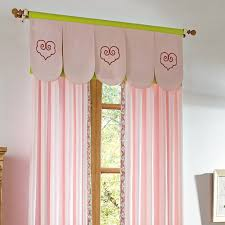 Pink Nursery Curtains Nursery Curtains Cotton Fabric No Valance