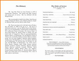 funeral programs exles 10 best obituary exles apply letter