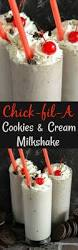 chickfila halloween copycat fil a cookies u0026 cream milkshake the novice chef