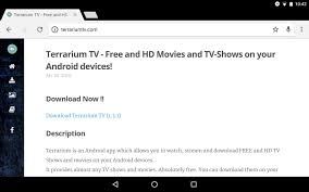 guide install terrarium tv on your android device
