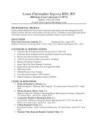 rn resume templates new resume samples for nurses job seekers