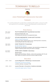 Australian Resume Templates Packer Resume Samples Visualcv Resume Samples Database