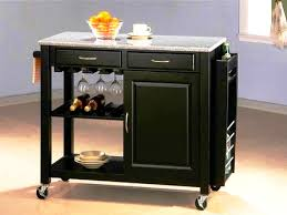 Cherry Kitchen Island Cart Alexandria Kitchen Island With Granite Top Kitchen Cart With