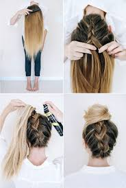 easiest type of diy hair braiding 14 ridiculously easy 5 minute braids haircuts hair style and