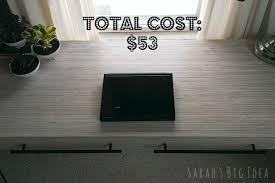 Whitewash Desk Plywood Gets Sarah U0027s Big Idea